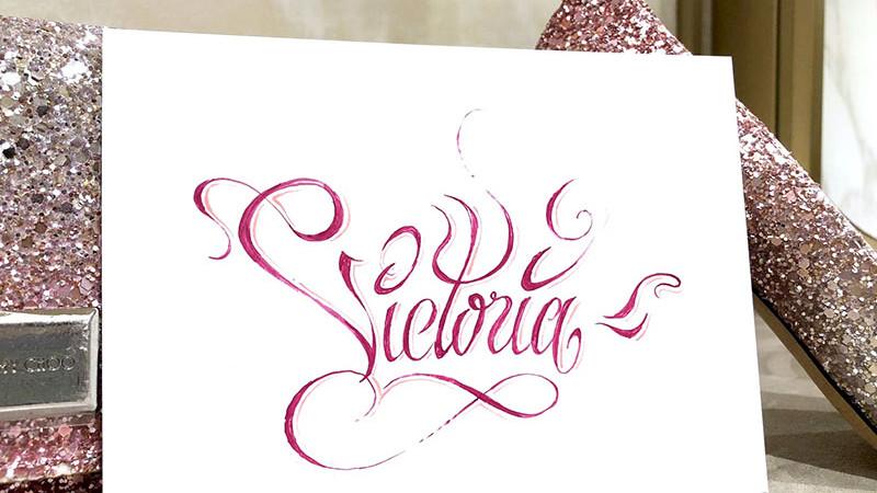 Prénom, graff, graph, lettrage, calligraphie, hand lettering