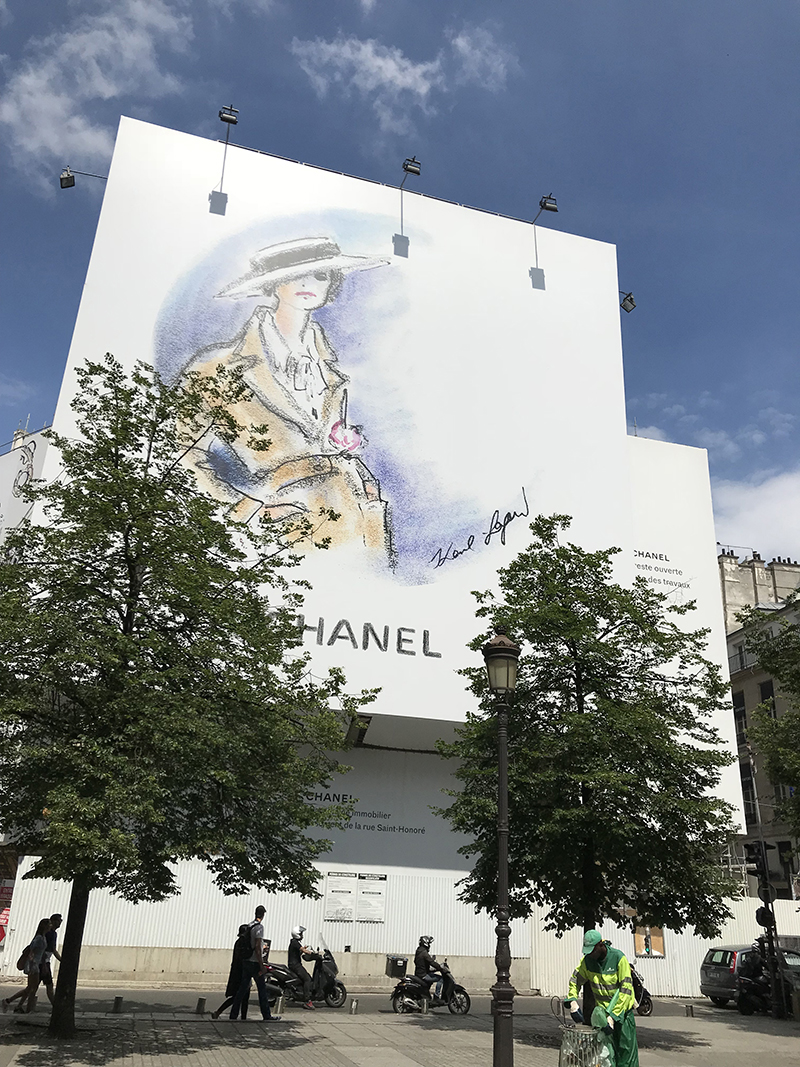 Paris, chic, illustration, mode