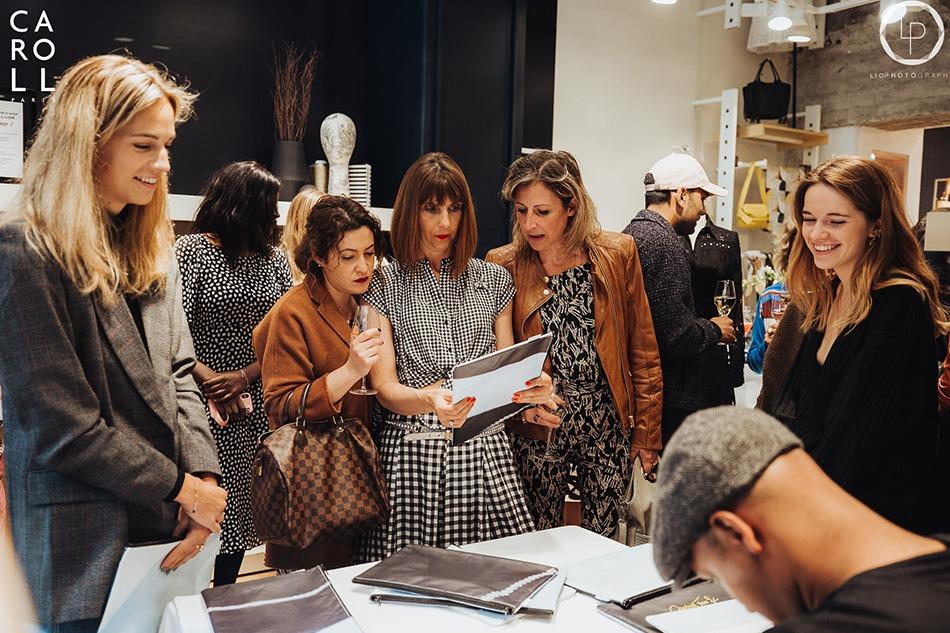 Boutique, Caroll, personnalisation, Art, Bruxelles, clientes