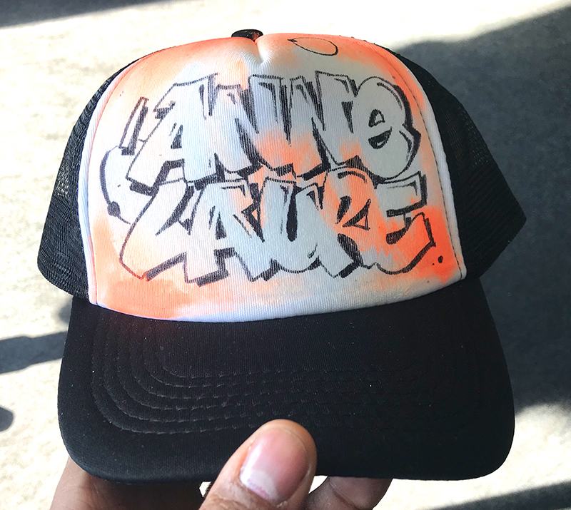 cap, graffiti, casquette, personnalisation
