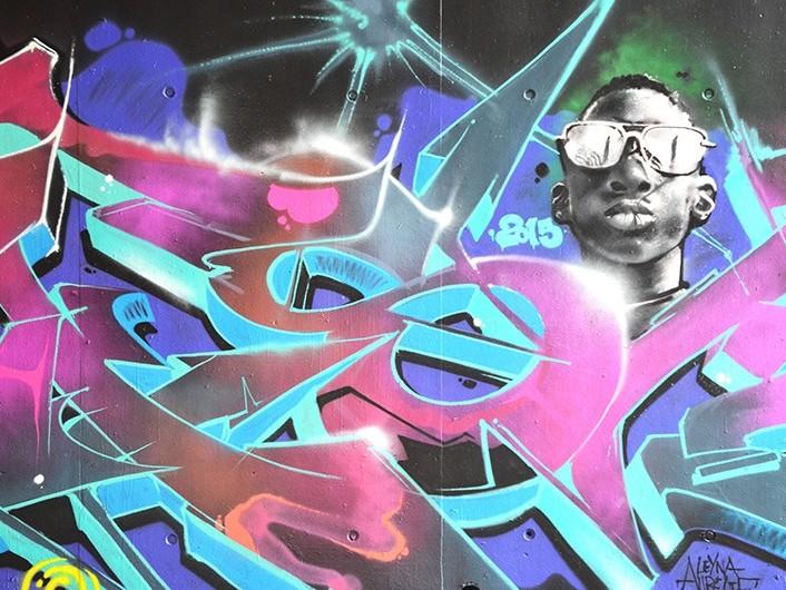 Graffiti, street Art, champ lexical, vocabulaire