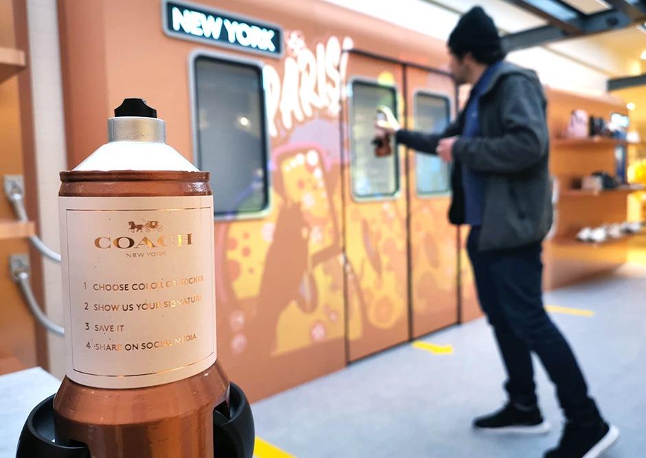 Artiste, graffeur, graffiti, paris, street art, bon Marché