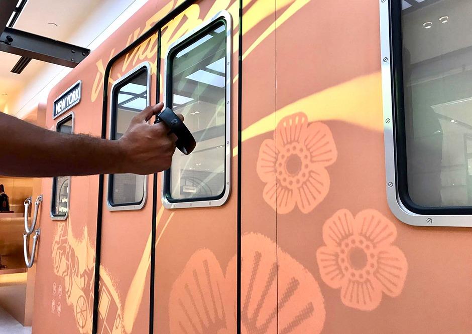 graffiti, graffeur, street artiste, urbain, marque, luxe, Coach