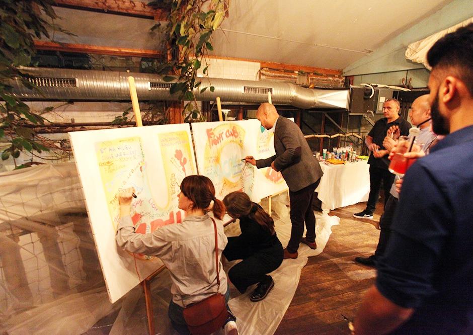 collaborateurs, Coca Cola, UGC, team building, soirée événementielle