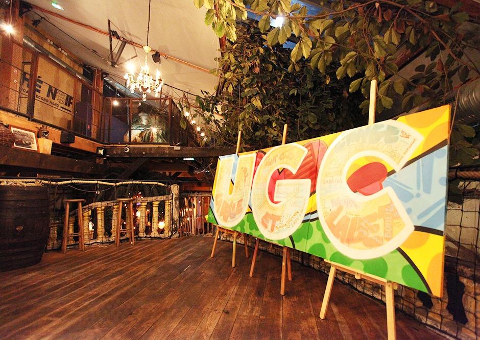 graff, tag, graffiti, participatif, Coca Cola, soirée, événementielle
