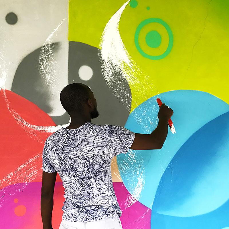Calligraphie, orientale, graffiti, calligraffiti, art, Hamou
