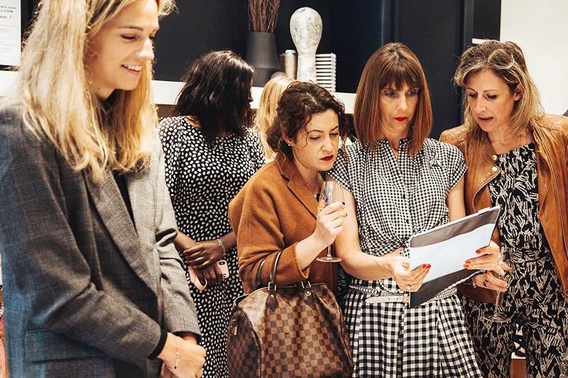 Inauguration, boutique, Bruxelles, mode, femme, Paris, graffeur