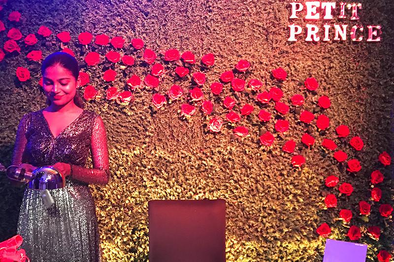 Le petit prince, personnalisation, animation, soirée, cuir art, inde, mumbai