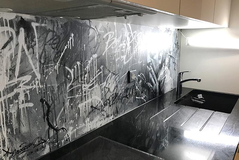 urban, graffiti, street, art, décoration