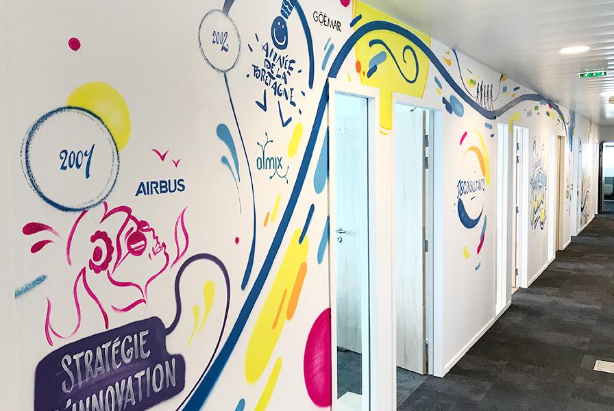 graffiti, paris, Tour Montparnasse