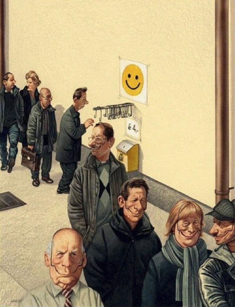 citadins, happiness, joie, bonheur, artificiel