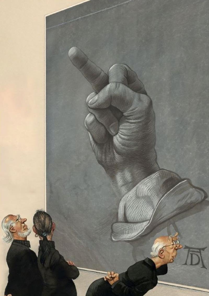 Резултат с изображение за gerhard haderer illustrations