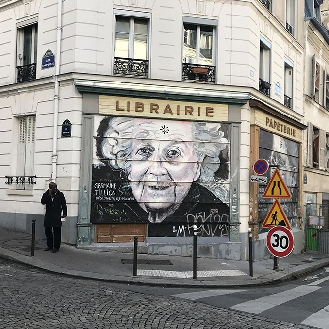 portrait, graffiti, street art, numérique