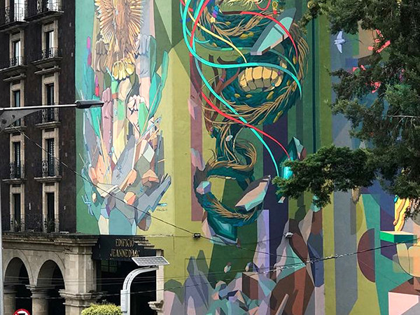 graffiti, façade, Brésil, Street Art, original, impressionnant