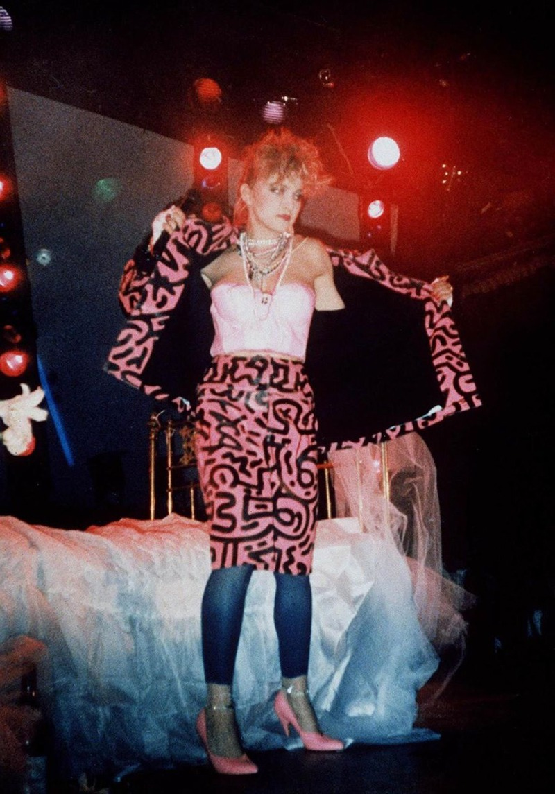 Madonna, Robe, Keith, Haring Street Art, Concert