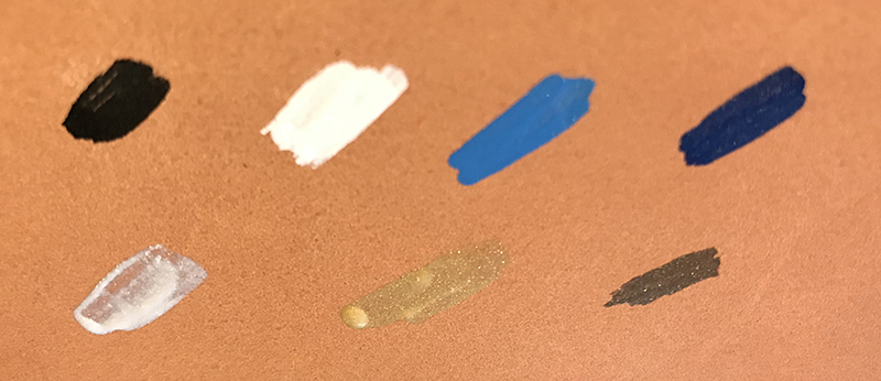 peinture spécialisée pour le cuir.