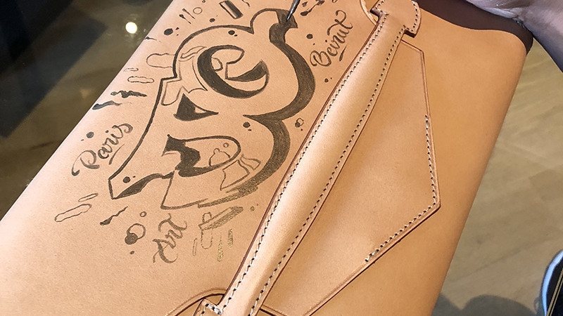 Personnalisation, cuir, main, paris, art, Lefebure