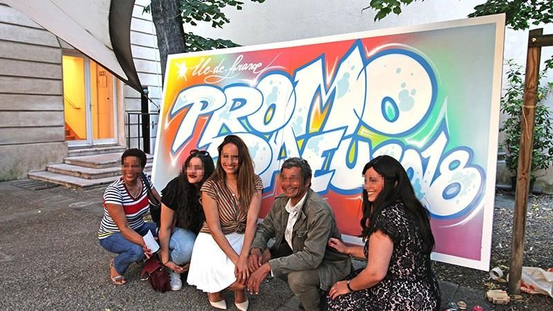 team, building, graffiti, art, Ile de France