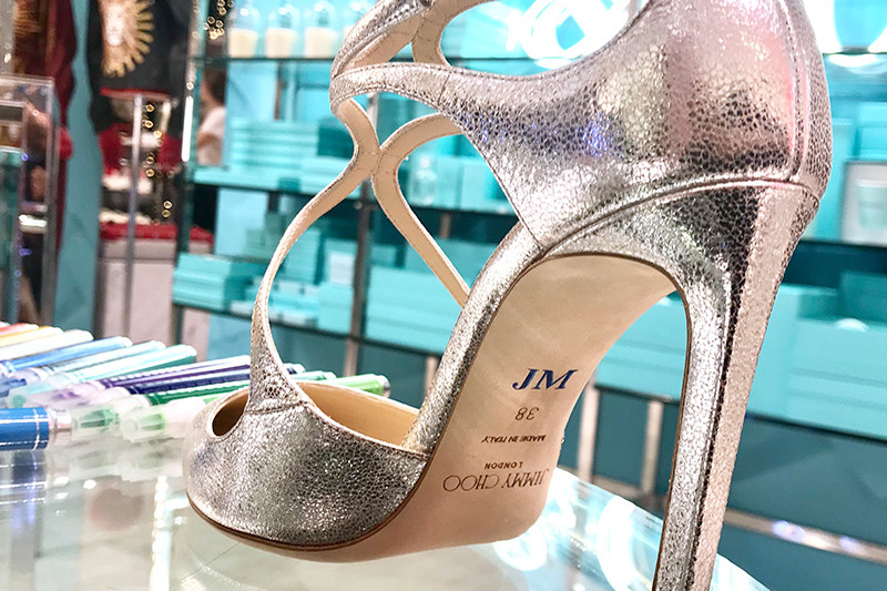 Personnalisation, Chaussures, Boutique, Jimmy Choo