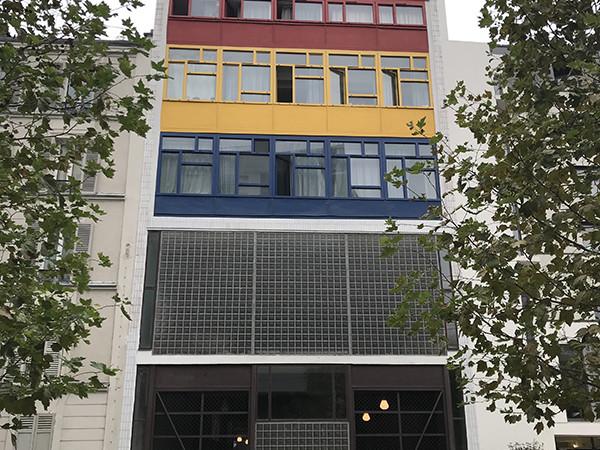 Façade, immeuble, Paris, Street Art, Graffiti