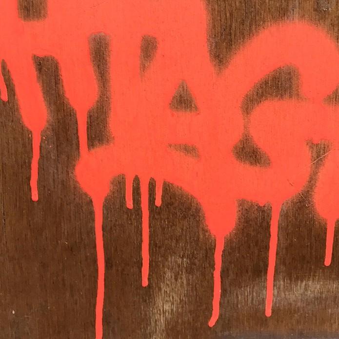 coulure, défaut, qualité, art, street, graffiti, graffeur