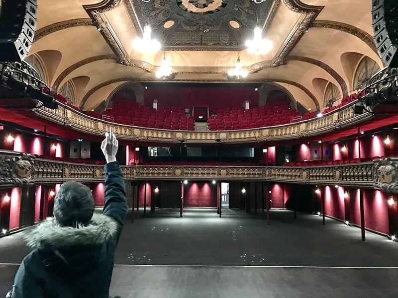 salle, Trianon, scène, pigalle, Paris
