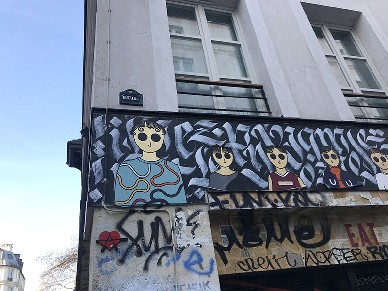 graffiti, street art, paris, décoration, lieu, alternatif, expression, artistes