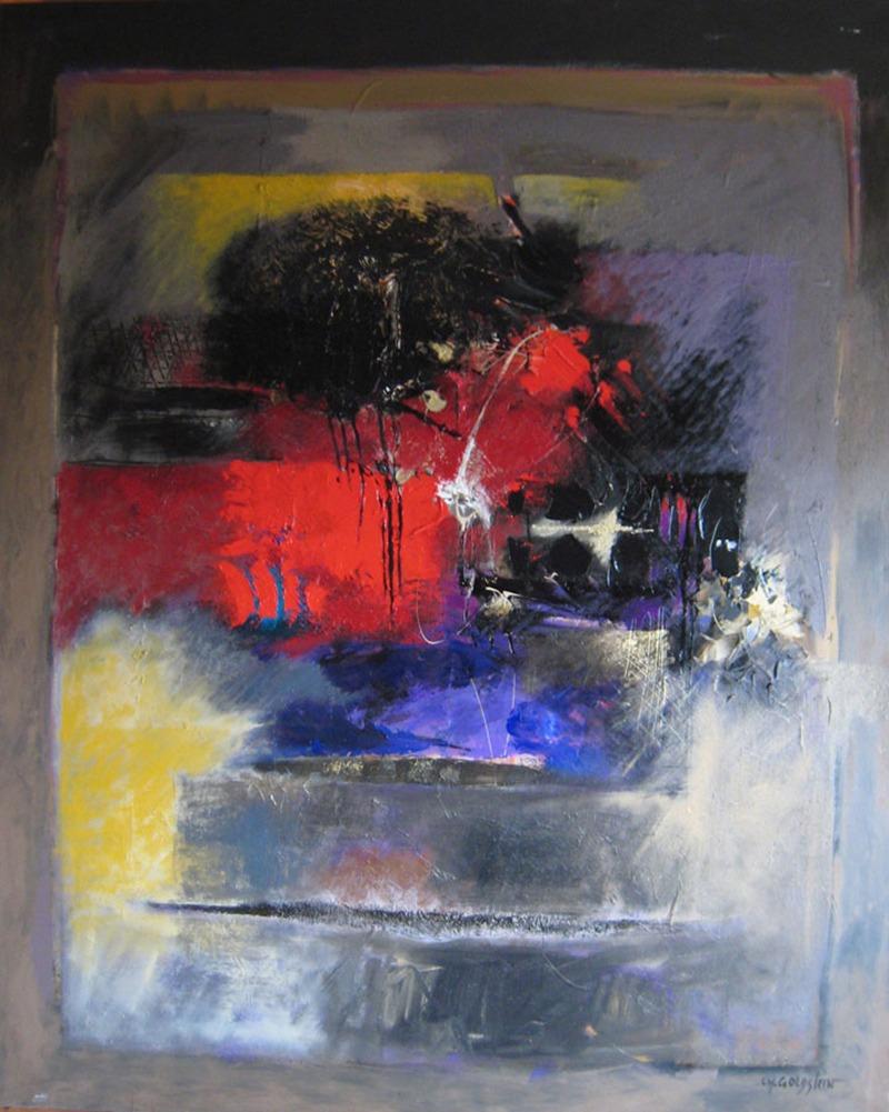 Toile, Charles, Goldstein, abstrait, Art, graffiti, street, Urbain