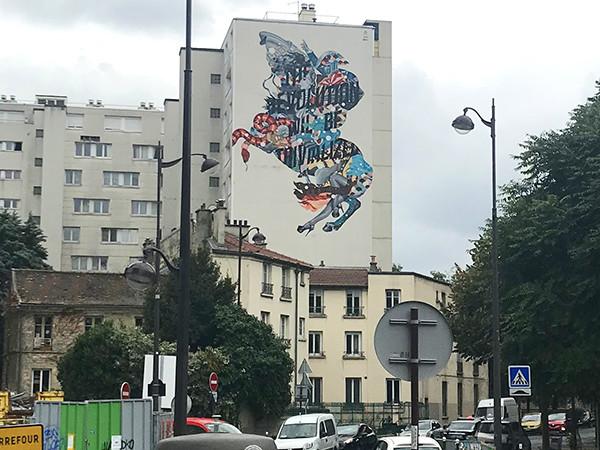 Tristant Eaton, Art, street, graffiti, Paris