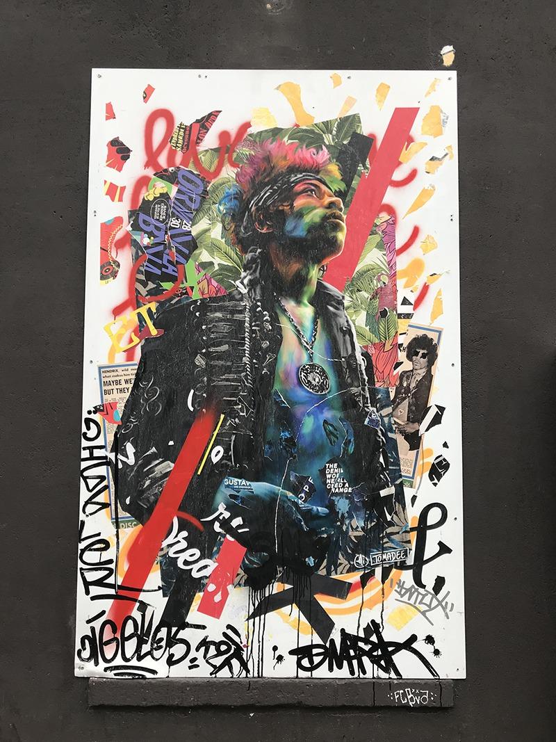 Oberkampf, paris, affichage, street art, urbain