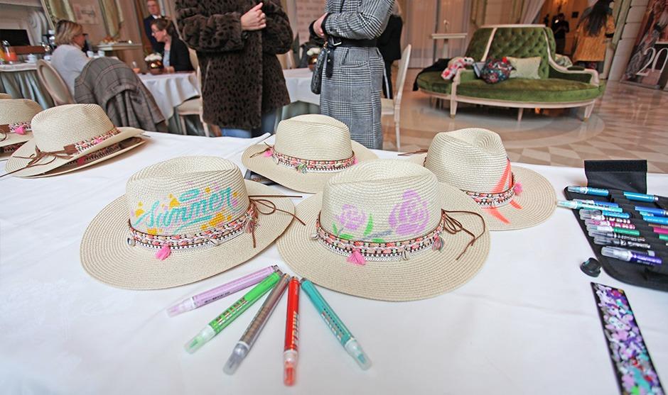 chapeau, été, illustration, graffiti, art, personnalisation