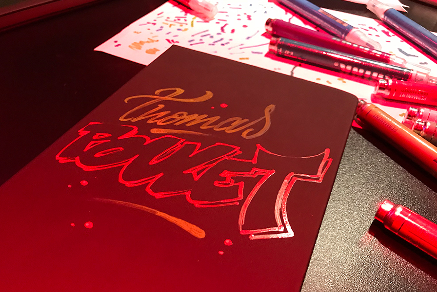 carnet personnalisé, street art, 5 minute, dessin, art, animation