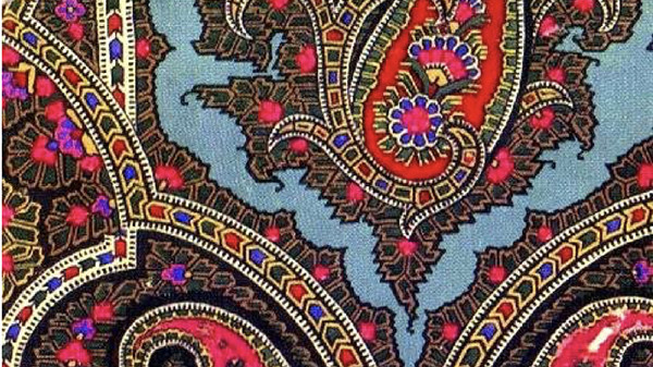 Motif, Indien, multicolore, Paris, street art