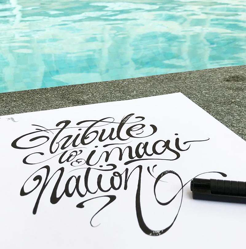 urban calligraphy, tribute, imagination, pool, sketch, art