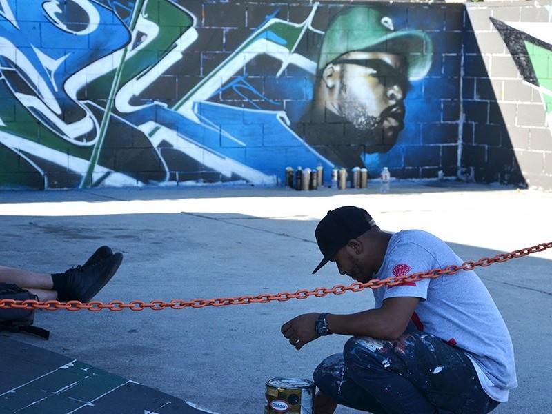 Graffiti, street art, Los Angeles, Venice St
