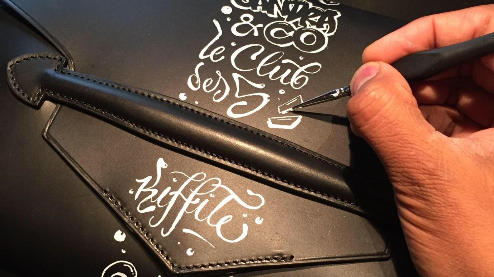 Personnalisation, Maroquinerie, paris, artisan, cuir