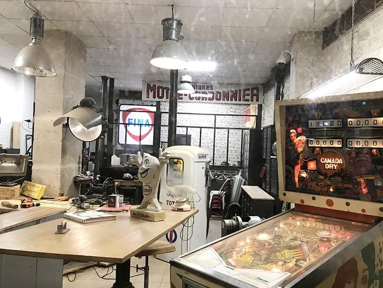 Vintage, industriel, rétro, déco, boutique