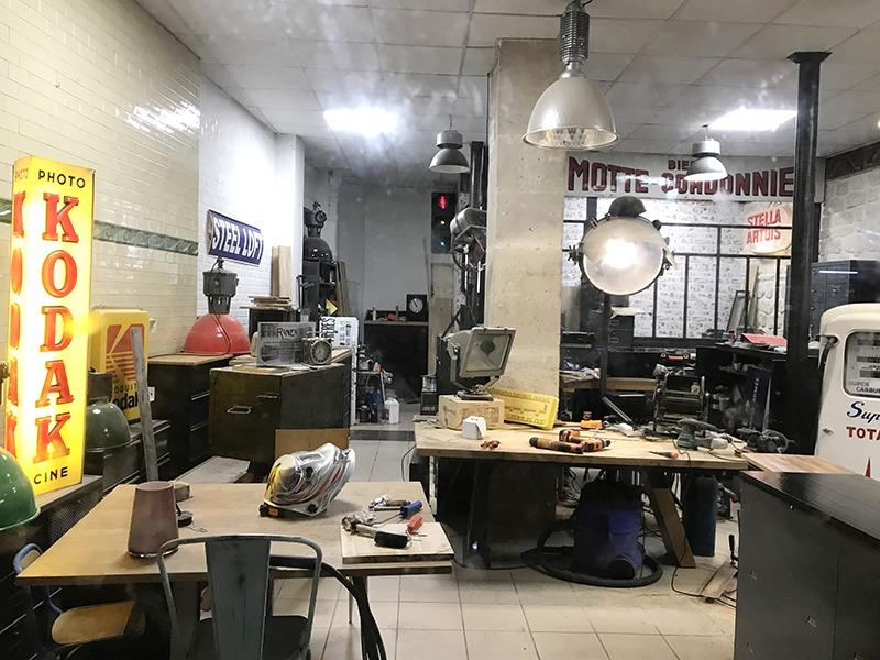 Steel Loft, accessoires, objets, Paris, street, industriel, texture, boutique déco
