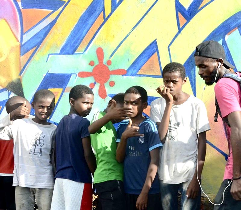 graff, street art, afriquen compares, art