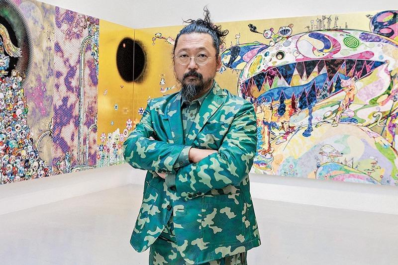 Takashi Murakami, art, toile, artiste, japonais