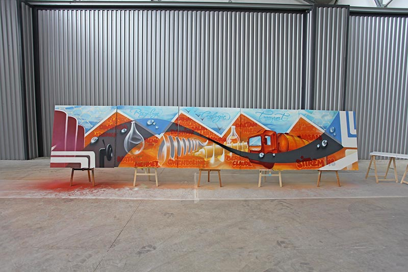fresque, graffiti, collective, graffeur, street artiste, paris, veilla