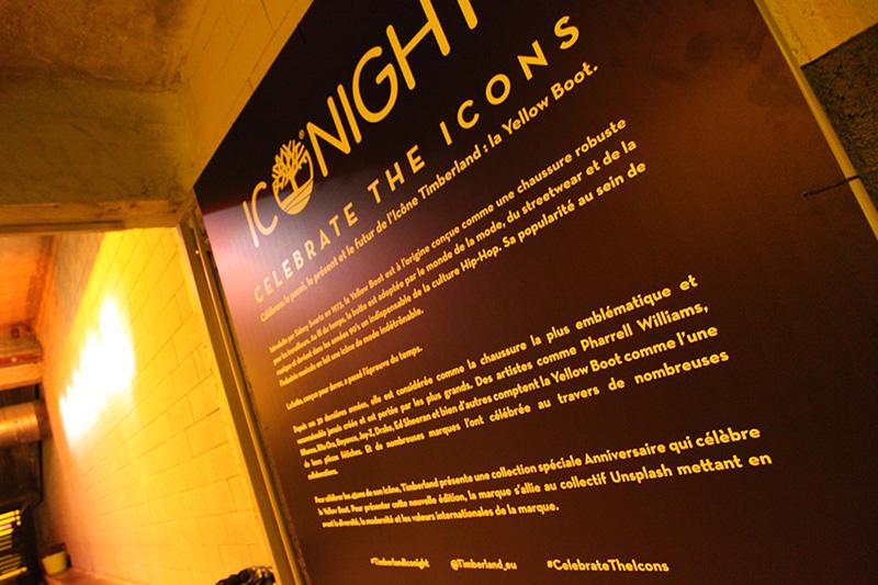 Timberland, iconight, soirée, événementielle, Paris