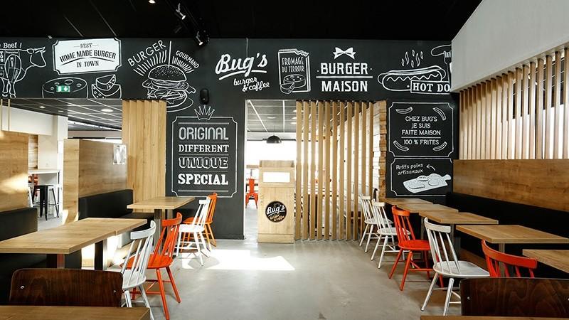 decoration, salle, intérieure, typo, handlettering, graff, graffiti