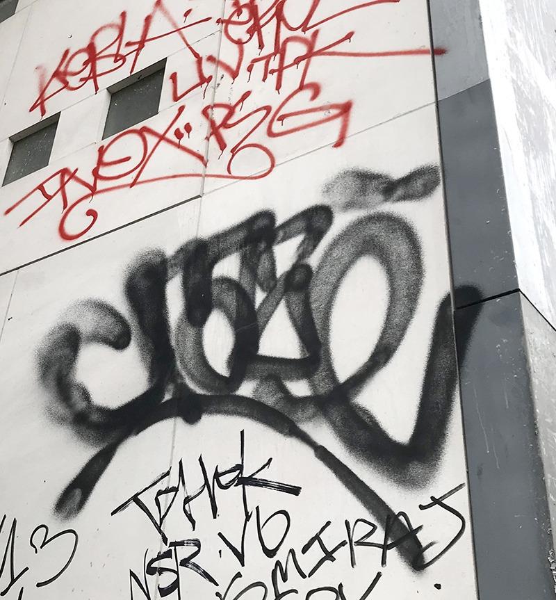 beauté, tag, persistance, rétine, art, lettering