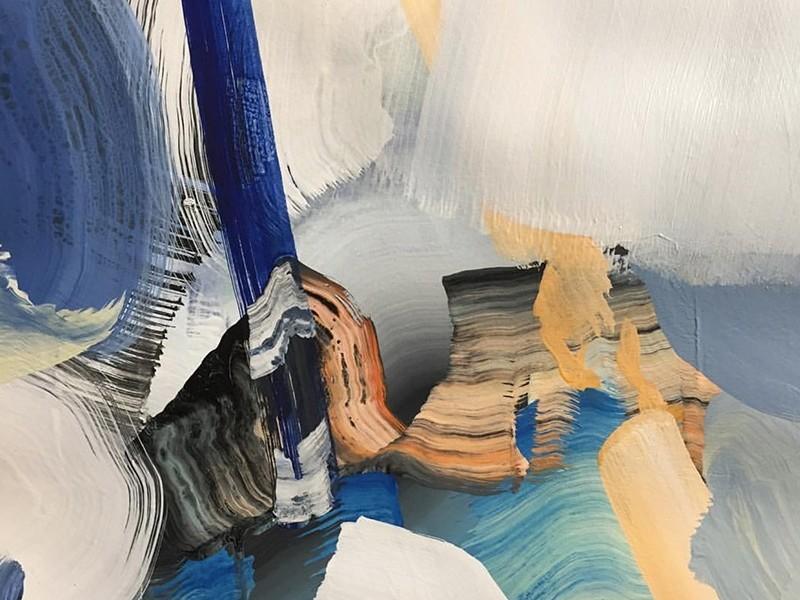 abstraction, toiles, victor reyes, art, contemporain, art, street art, graffiti