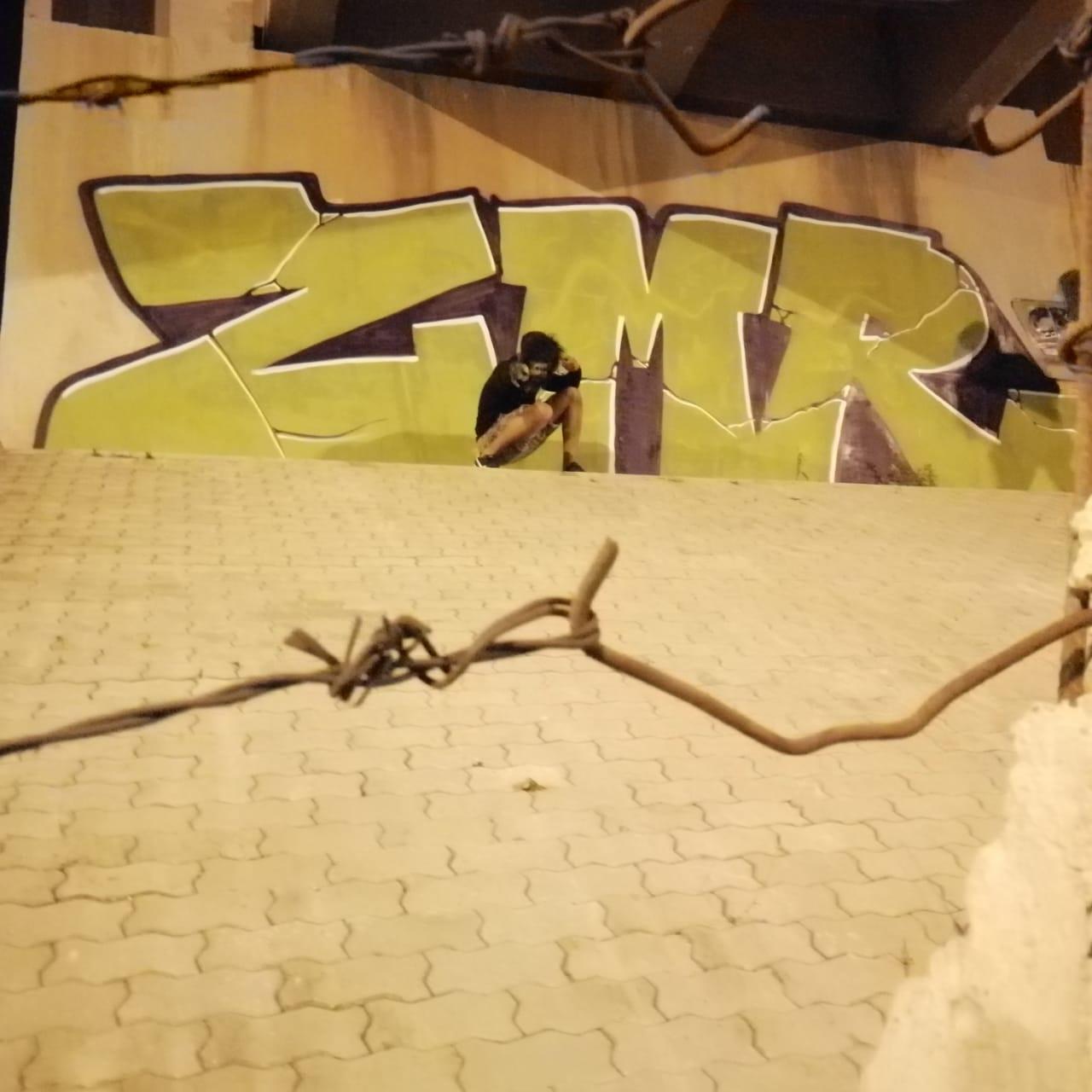 bloc letter, ZMR, crew, Maroc, life, street