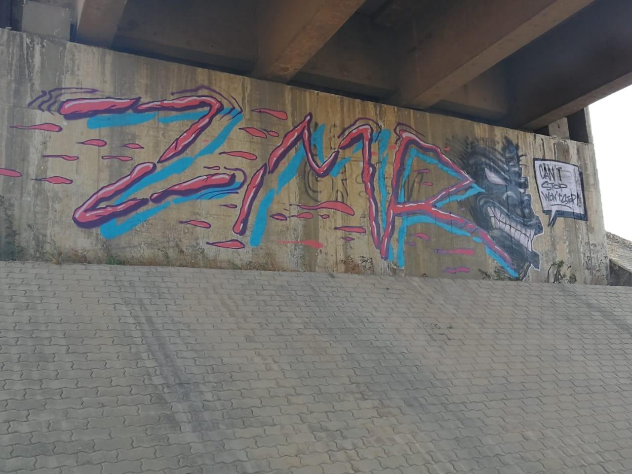 ZMR, crew, graffiti, Maroc, vandal, illégal, Casablanca