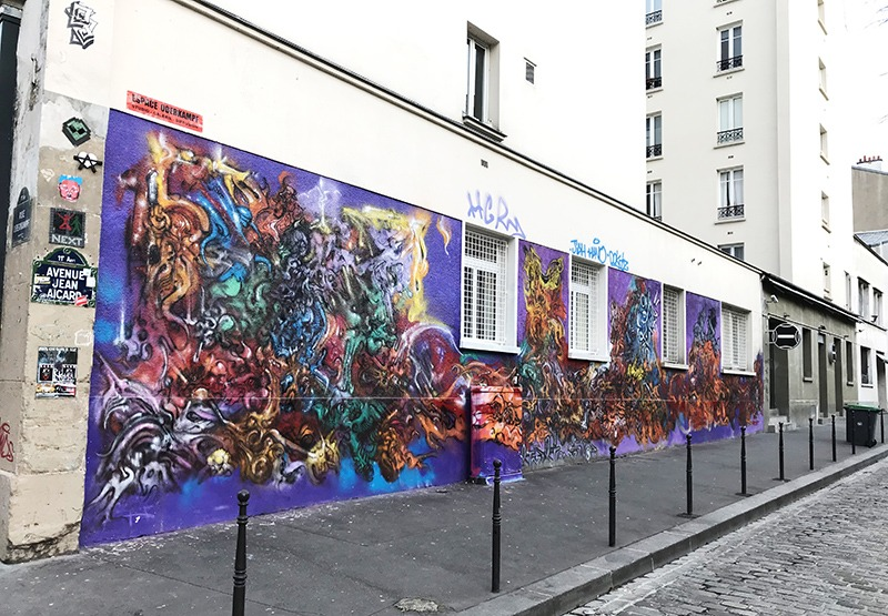 graff, graffiti, paris, avenue, jean, picard
