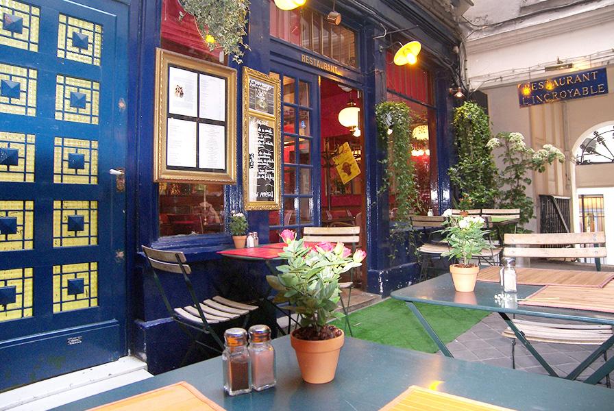devanture restaurant, paris, restaurant, l'incroyable