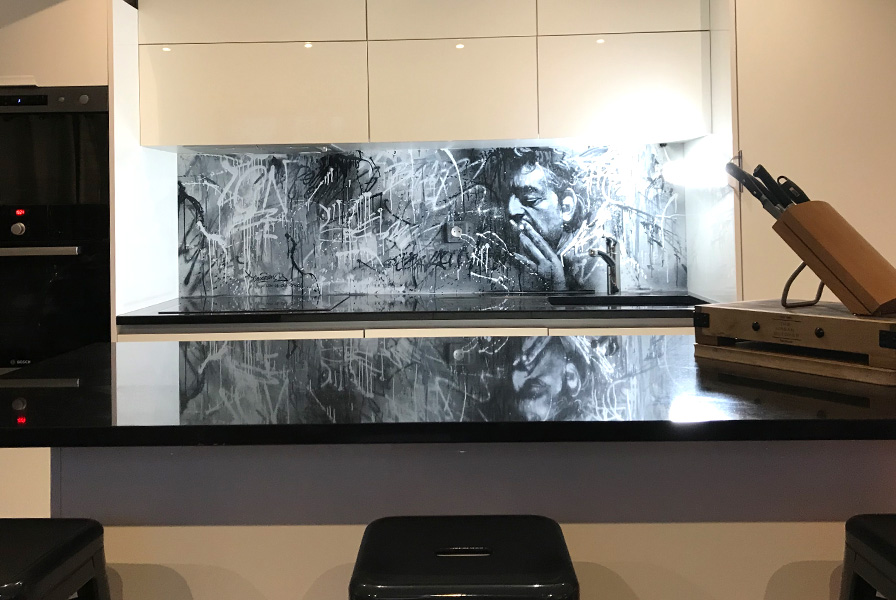 textures, graffiti, cuisine, arty, moderne, original